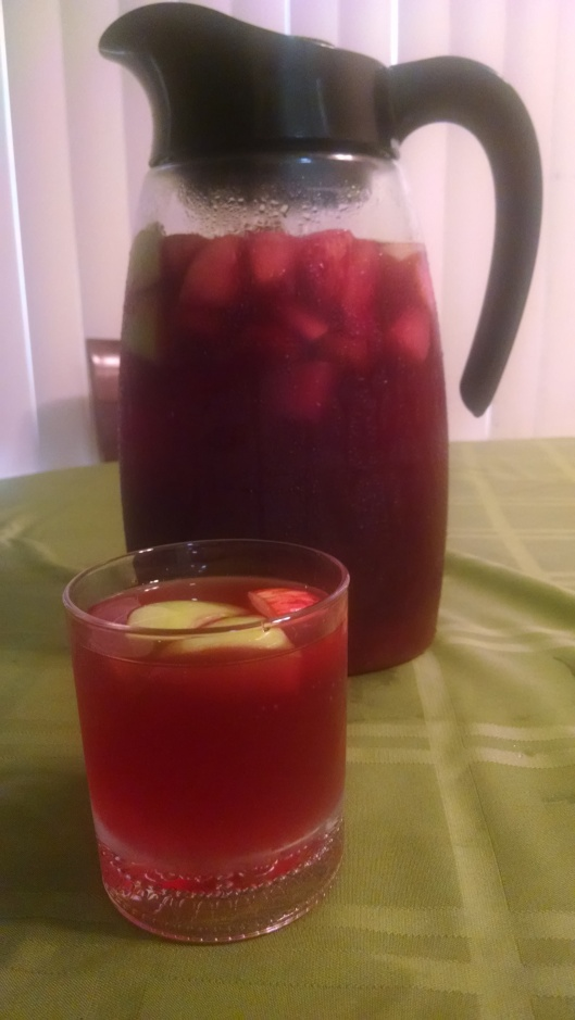 Hey, here's a good question: why do do many articles about sobriety use images of delicious-looking glasses of wine?  This isn't one of those.  Here's a pitcher of this!  http://www.food.com/recipe/non-alcoholic-sangria-260454